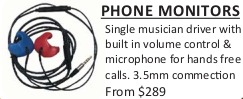 Custom Earmolds Headphones